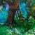 """Choices, 24""""x36"""", acrylic on canvas, © Donna Grandin. $1400."""